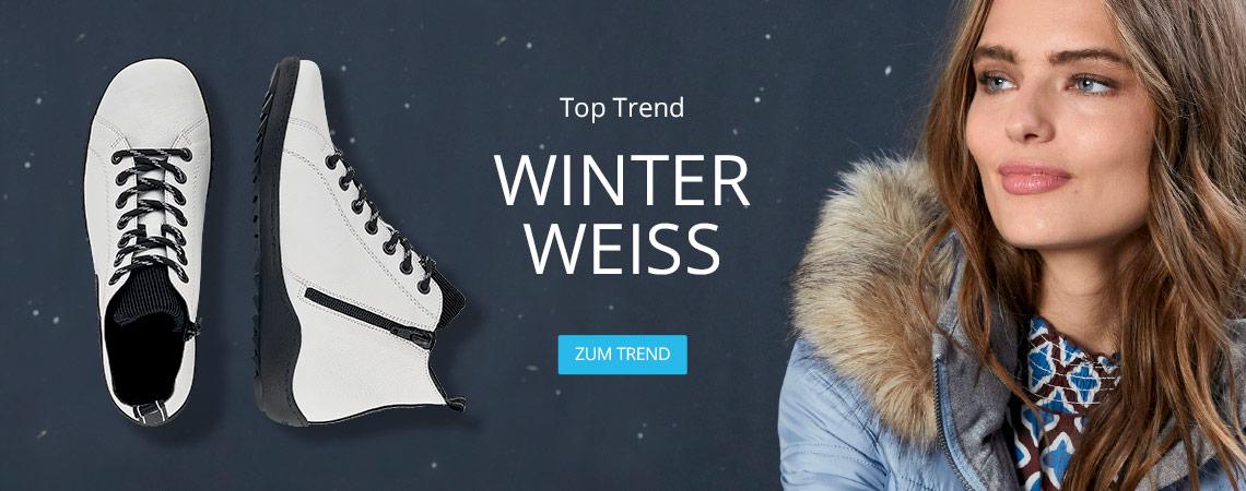 Top Trend Winterweiß bei I'm walking