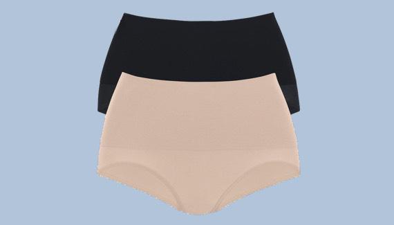 Kleid keine unterwäsche unterm Op Unterwäsche?