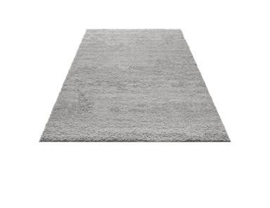Wohnzimmer Teppich grau