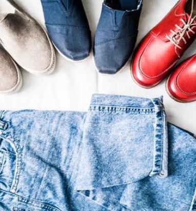 Schuhe zur Jeans