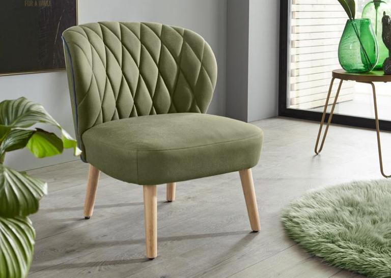 Wohnzimmer Sessel grün