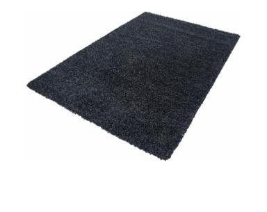 Wohnzimmer Teppich türkis-grau