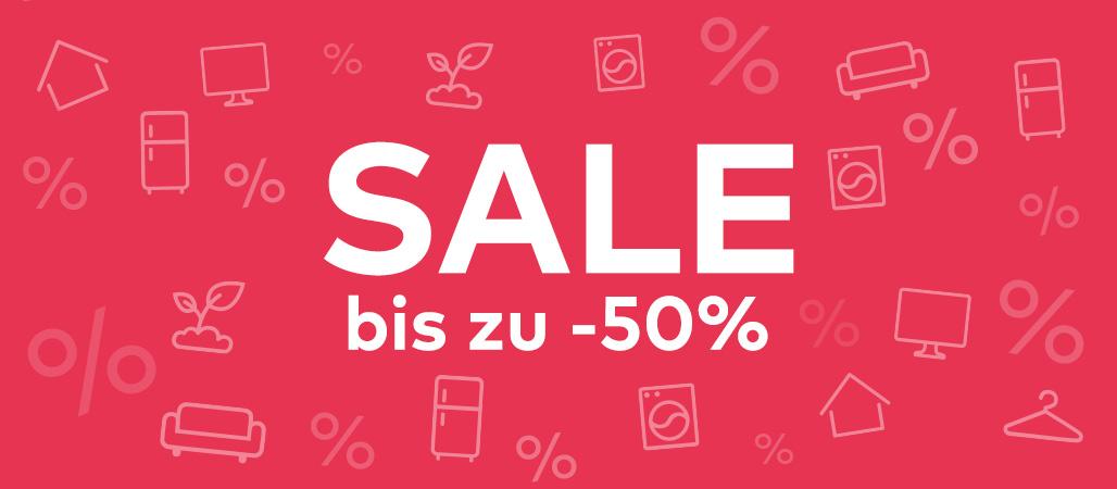 Sale bis zu -50%