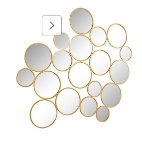 Goldfarbene Spiegel