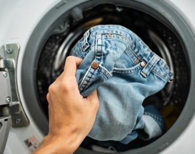 Jeans waschen
