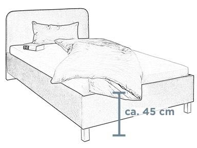 Standard-Doppelbett