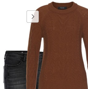 Braune Pullover