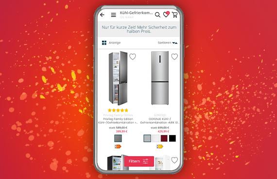 400.000 Produkte in der Quelle App
