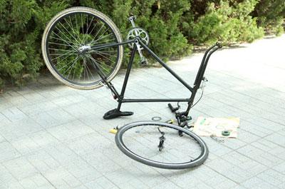 Fahrrad schnell reparieren