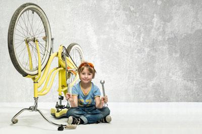 Fahrradreparatur ganz einfach