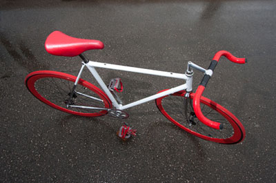 Fixed Bikes sind trendig