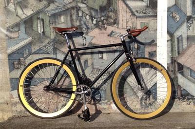 Fixed Gear Bike als Trend