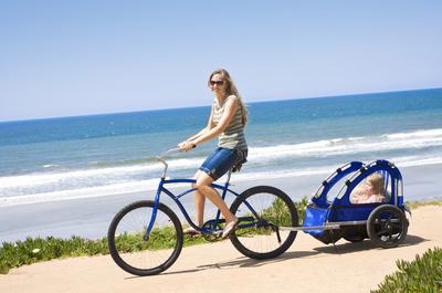 Hipster Bike für den Strand