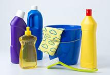 Putzmittel sind wichtig für die Reinigung