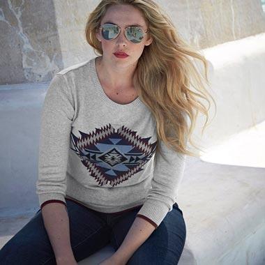 Arizona Damen Pullover