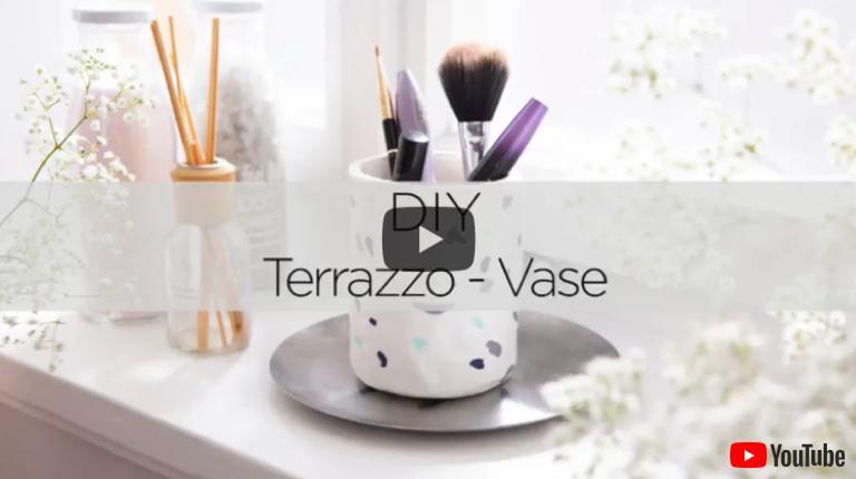 Terrazzo-Vase Video