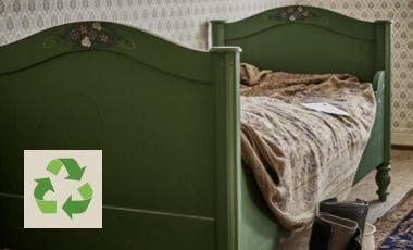 Bett entsorgen