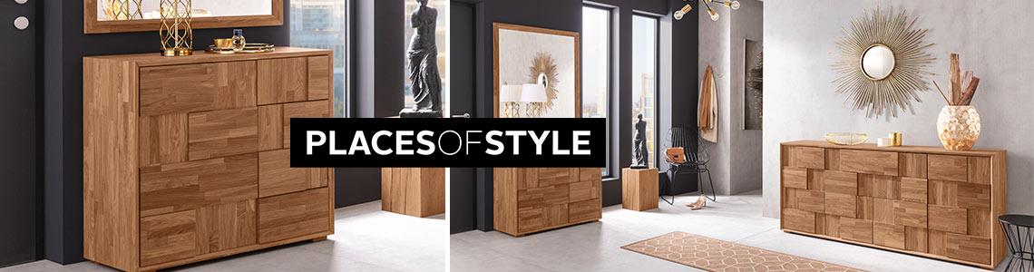 Places of Style Header Grafik