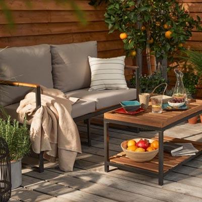 Nachhaltige Gartenmöbel