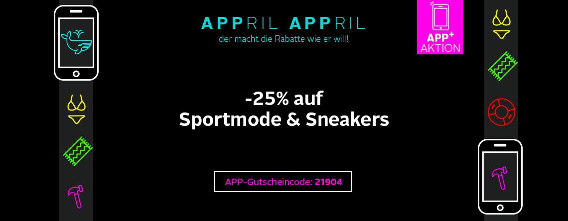 -25% auf Sportmode und Sneaker