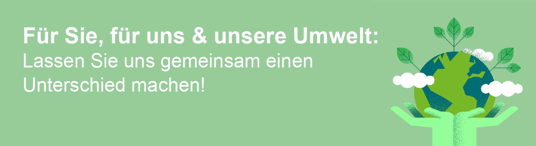 Nachhaltigkeit bei Quelle.ch