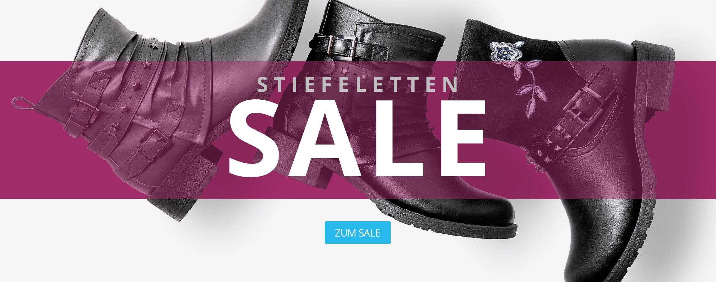 Stiefeletten-Sale bei I'm walking