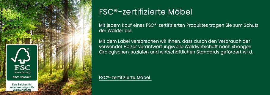 FSC zertifizierte Möbel