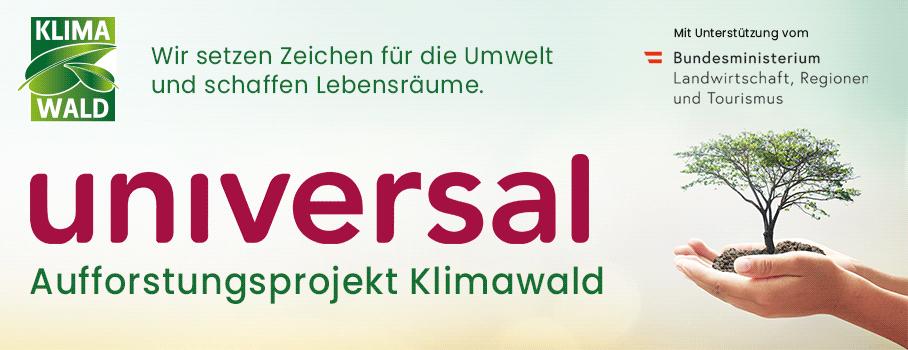 Aufforstungsprojekt Universal