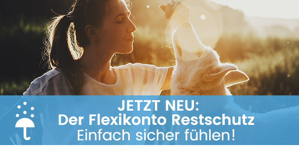 Jetzt neu: Der Flexikonto Restschutz