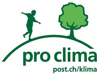 Label «pro clima»-Versand
