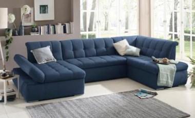 Wohnzimmer blau