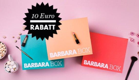 BARBARA BOX jetzt mit 10 Euro Rabatt!