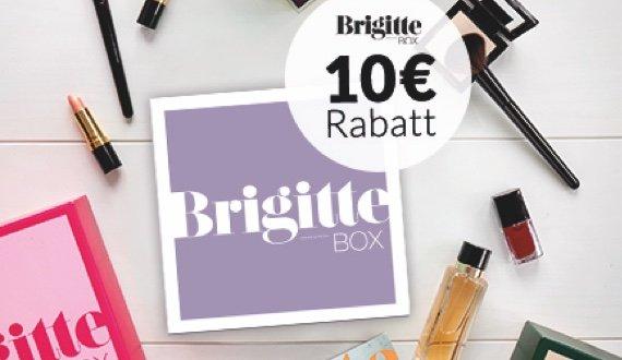 BRIGITTE Box jetzt mit 10 Euro Rabatt!