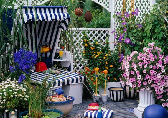 Gartenmöbel & Deko in weiß