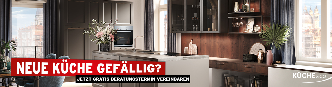 Neue Küche gefällig? Jetzt gratis Beratungstermin vereinbaren