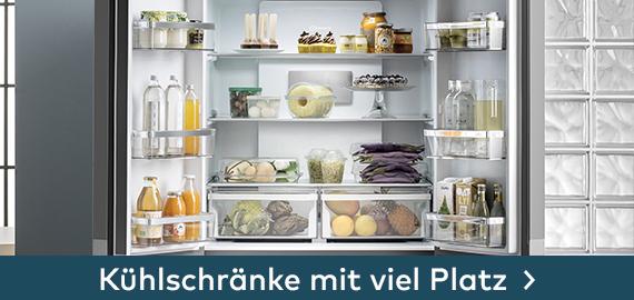 Kühlschränke mit viel Platz