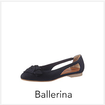 Damen Ballerina bei I'm walking