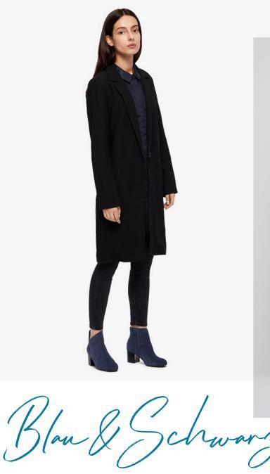 Dunkelblaues kleid kombinieren jacke