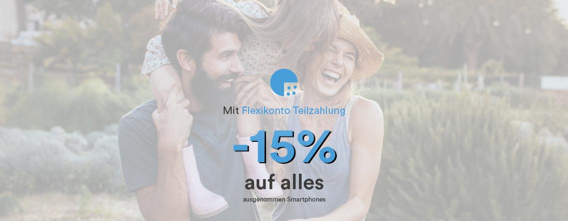 -15% auf alles