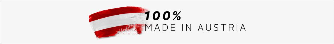 100% Made in Austria