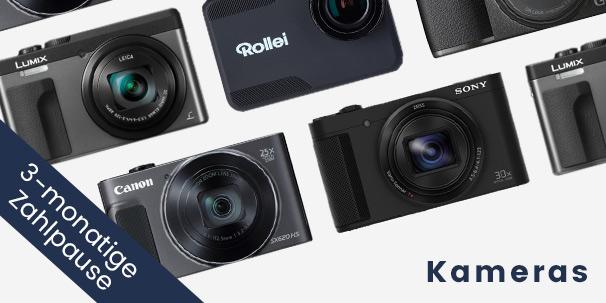 Kameras online bestellen bei Ackermann.ch