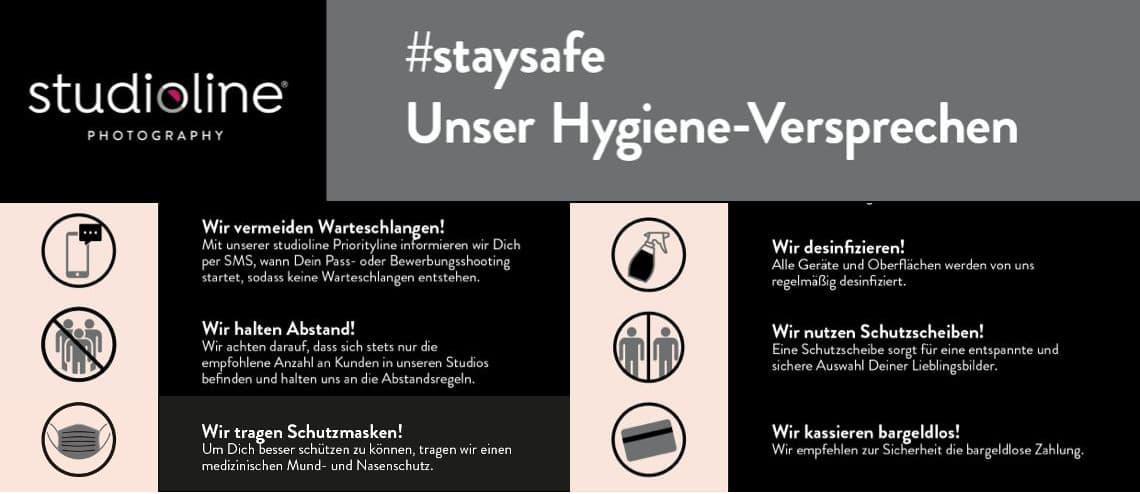 #staysafe – Unser Hygiene-Versprechen