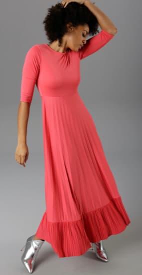 Unifarbene Kleider