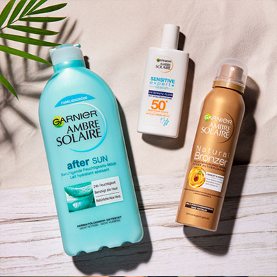 Sonnenschutz & Pflege