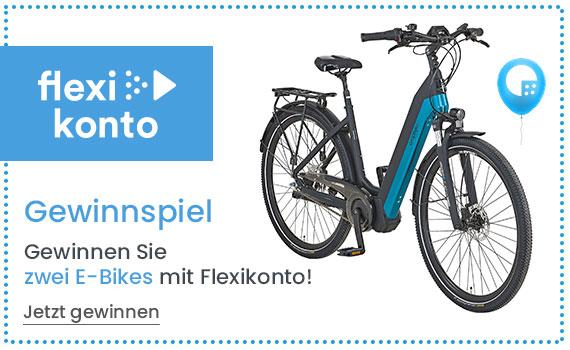 Gewinnen Sie zwei E-Bikes mit Flexikonto von Universal Versand