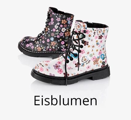 Schuh-Trend Eisblumen bei I'm walking