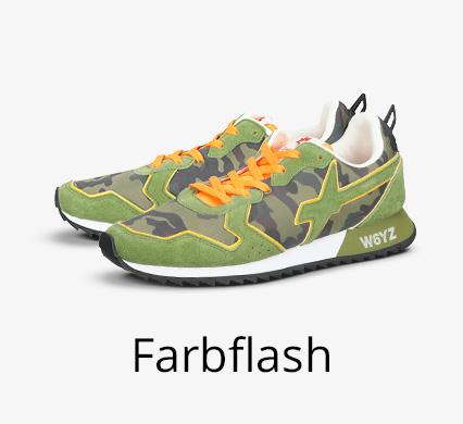 Schuh-Trend Farbflash bei I'm walking