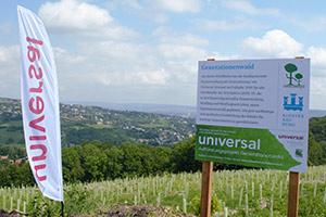 Eröffnung des Generationenwalds in Klosterneuburg
