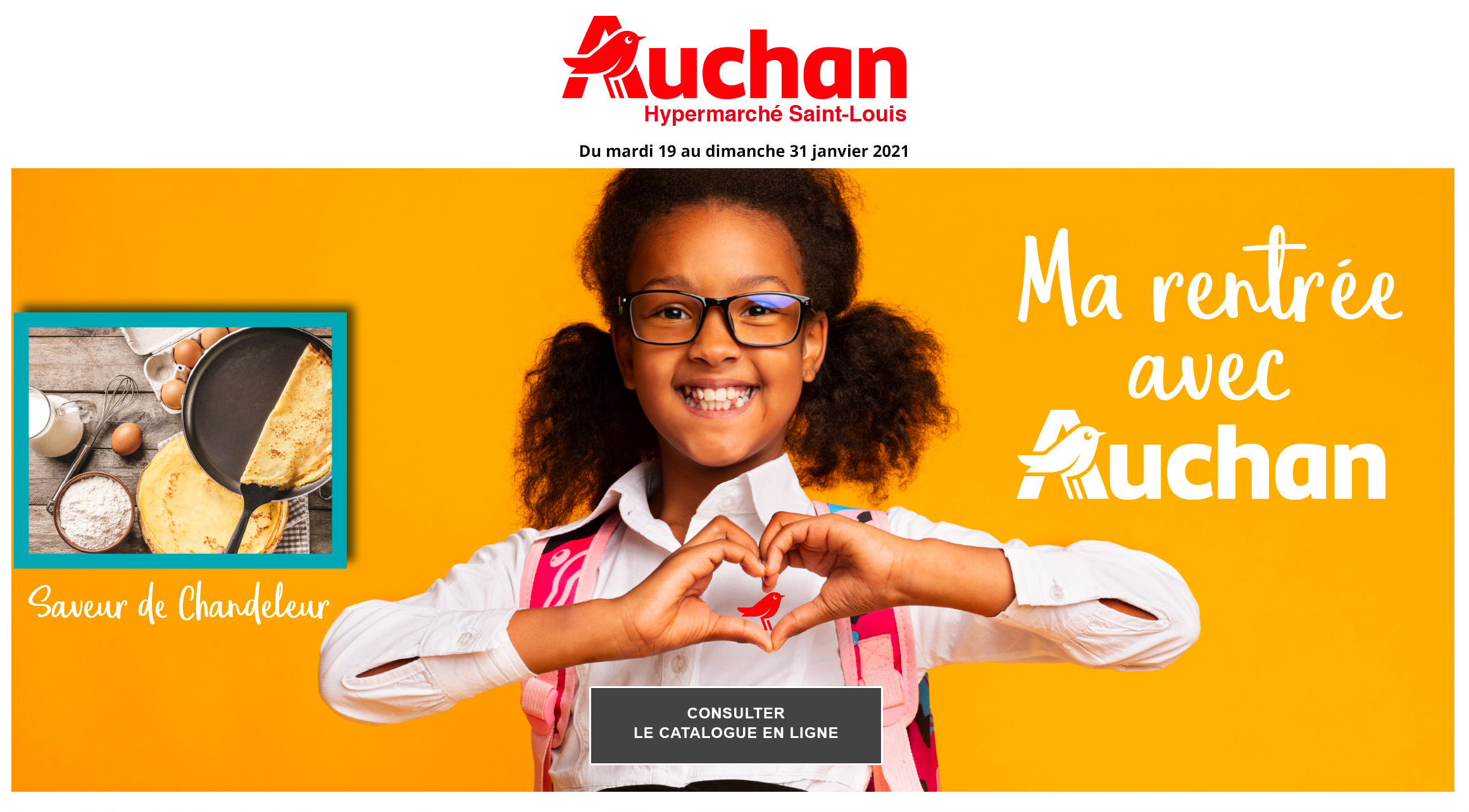 Catalogue Auchan Saint-Louis