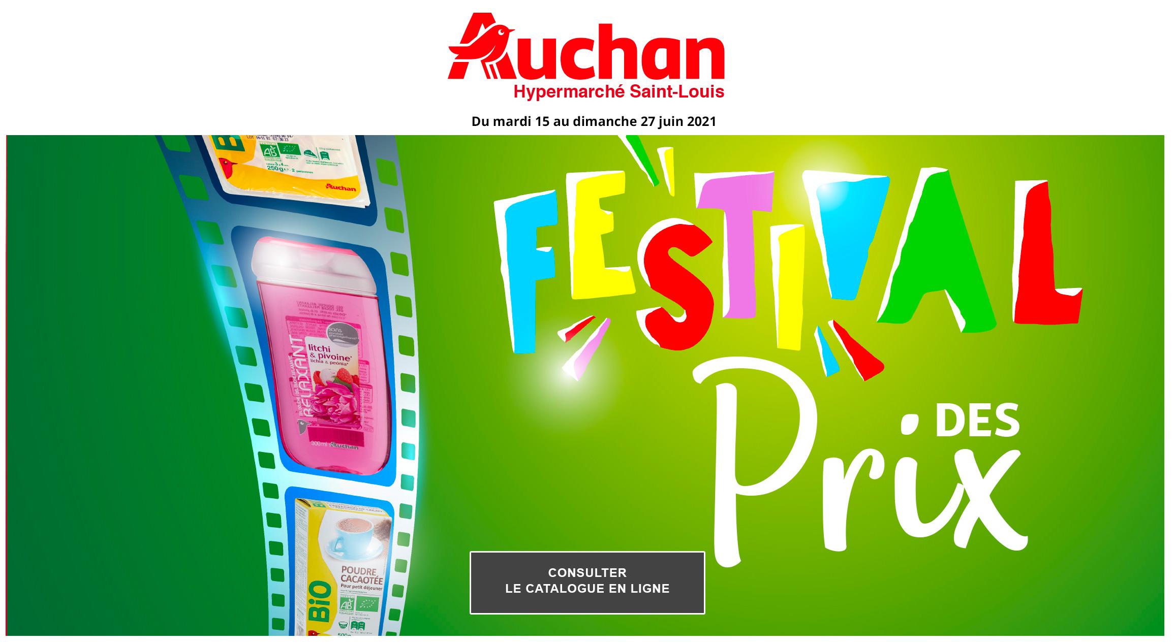 Catalogue Auchan Saint-Louis